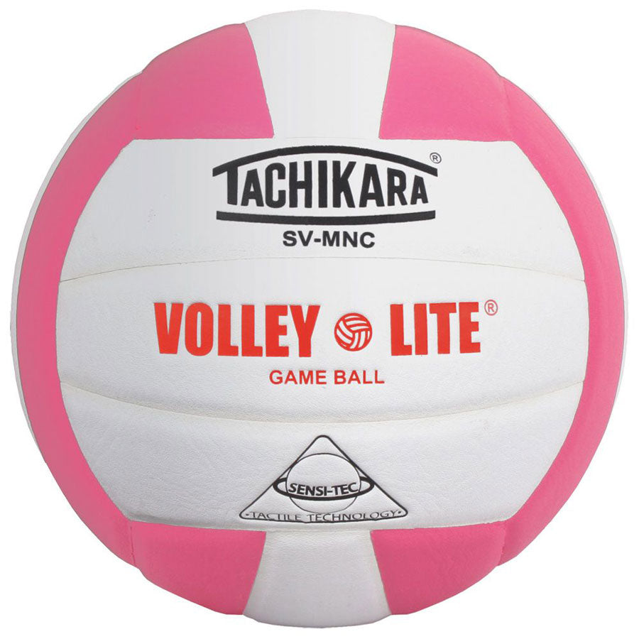 tachikara volley lite ball in pink