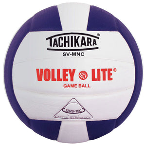 tachikara volley lite ball in purple