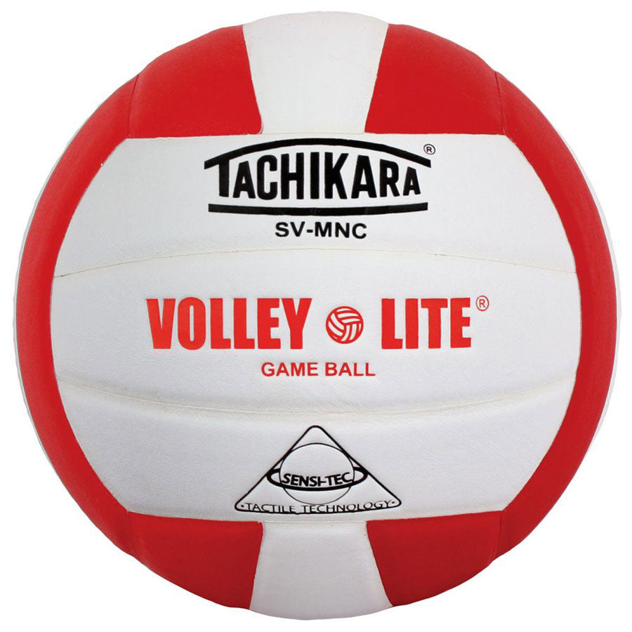 tachikara volley lite ball in red