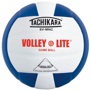 tachikara volley lite ball in royal