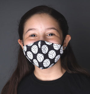 volleyball face mask model