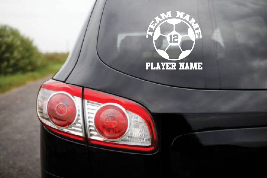 Custom Vinyl Stickers SOCCER