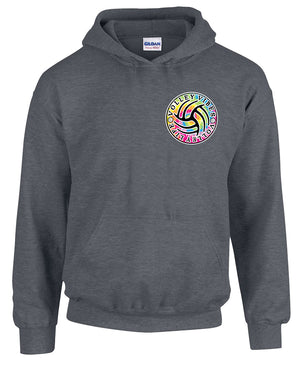 TIE-DYE Volleyball Hooded Sweatshirt