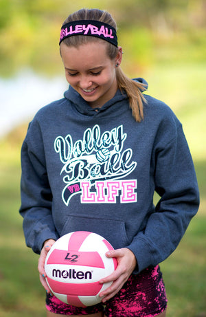 VOLLEYBALL LIFE Hooded Sweatshirt