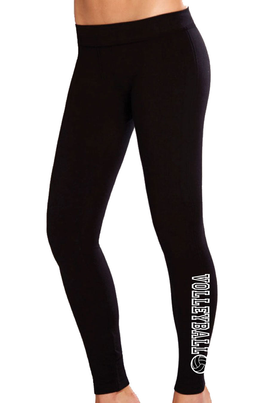 Volleyball Cotton Spandex Leggings