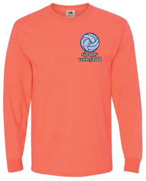 BE-YOU-TIFUL Volleyball Long Sleeve Shirt