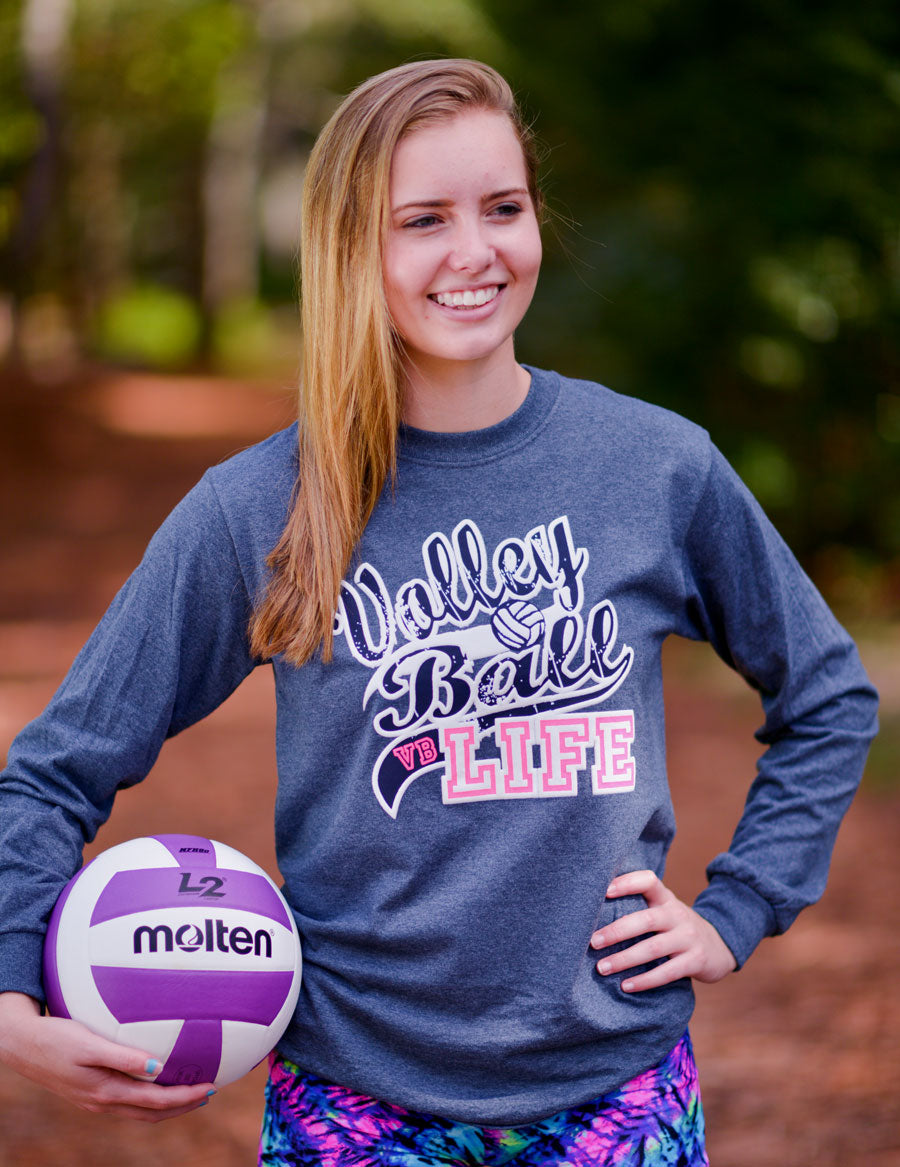 VOLLEYBALL LIFE Volleyball Long Sleeve Shirt