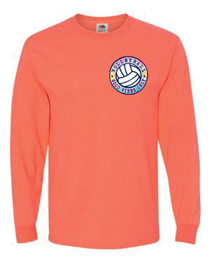 GOOD VIBES ONLY Volleyball Long Sleeve Shirt