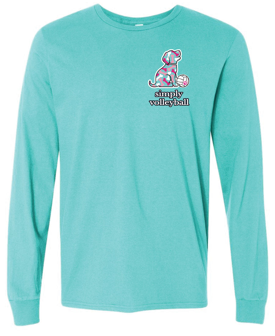 DOG Volleyball Long Sleeve Shirt
