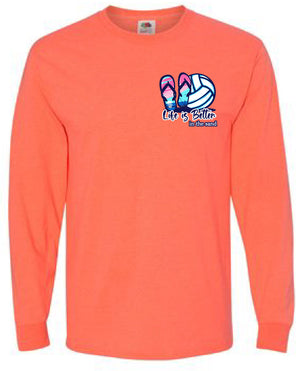 IN THE SAND Volleyball Long Sleeve Shirt