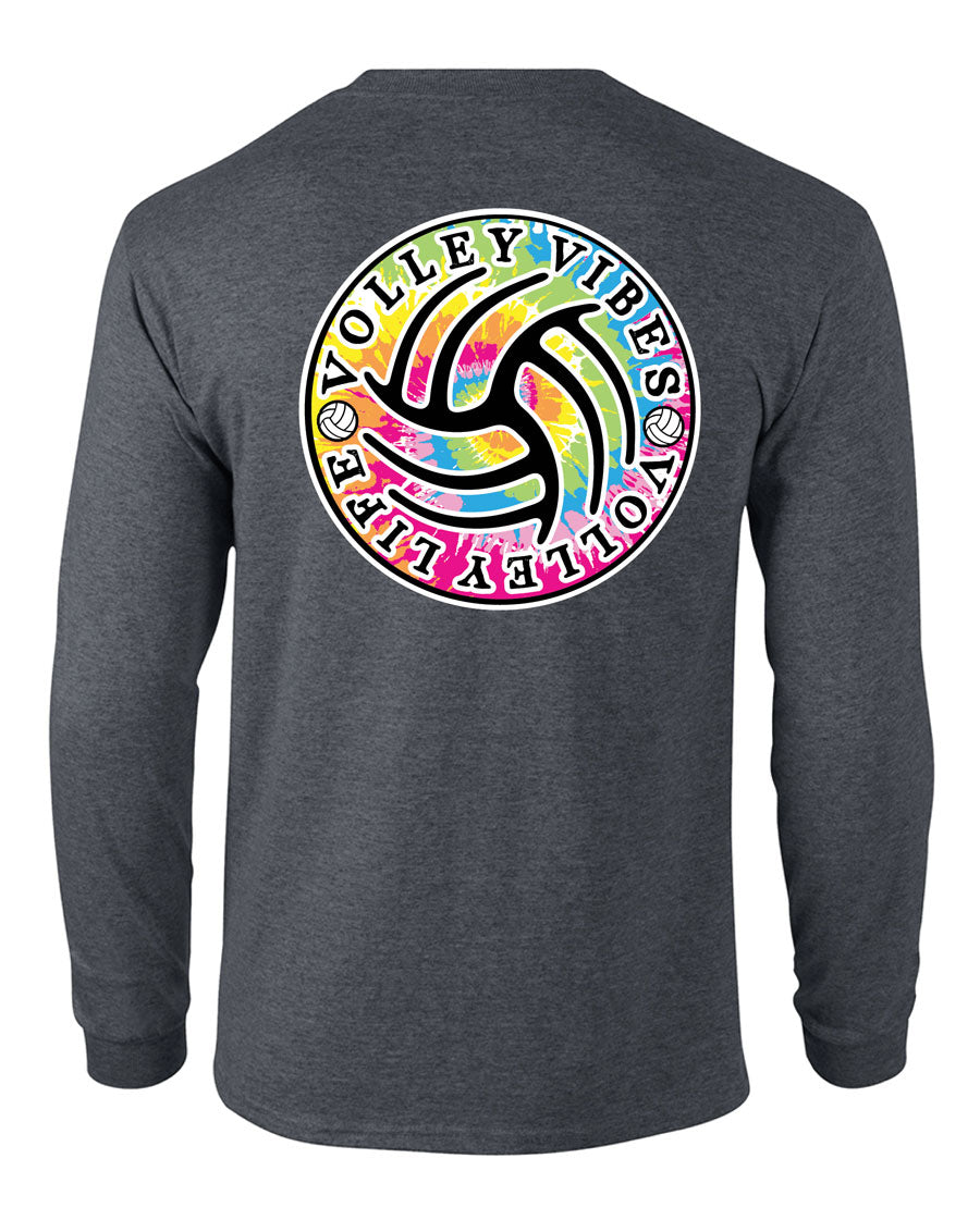 TIE-DYE Volleyball Long Sleeve Shirt