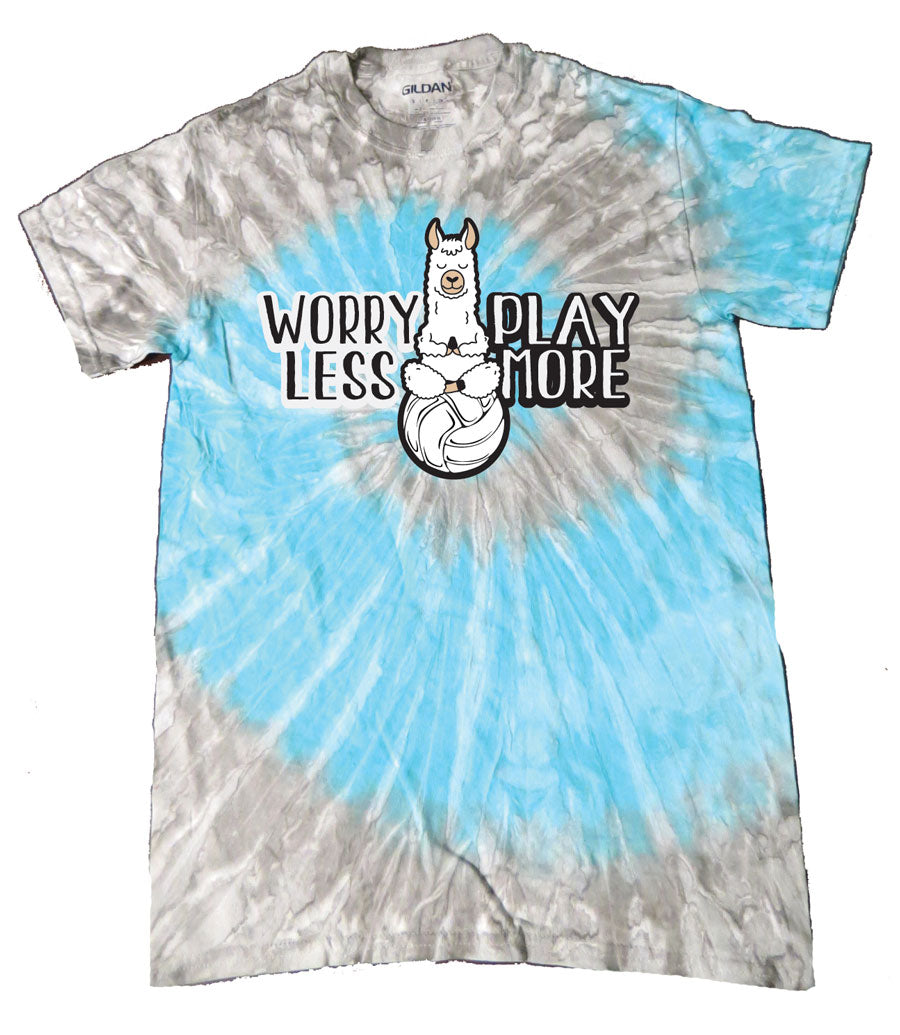VOLLEY LLAMA Volleyball Tie-Dye Shirt