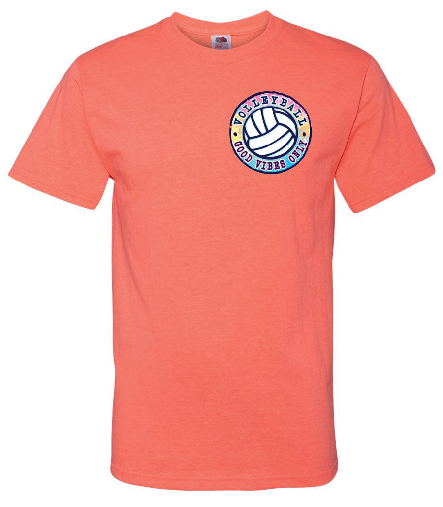 GOOD VIBES Volleyball T-shirt