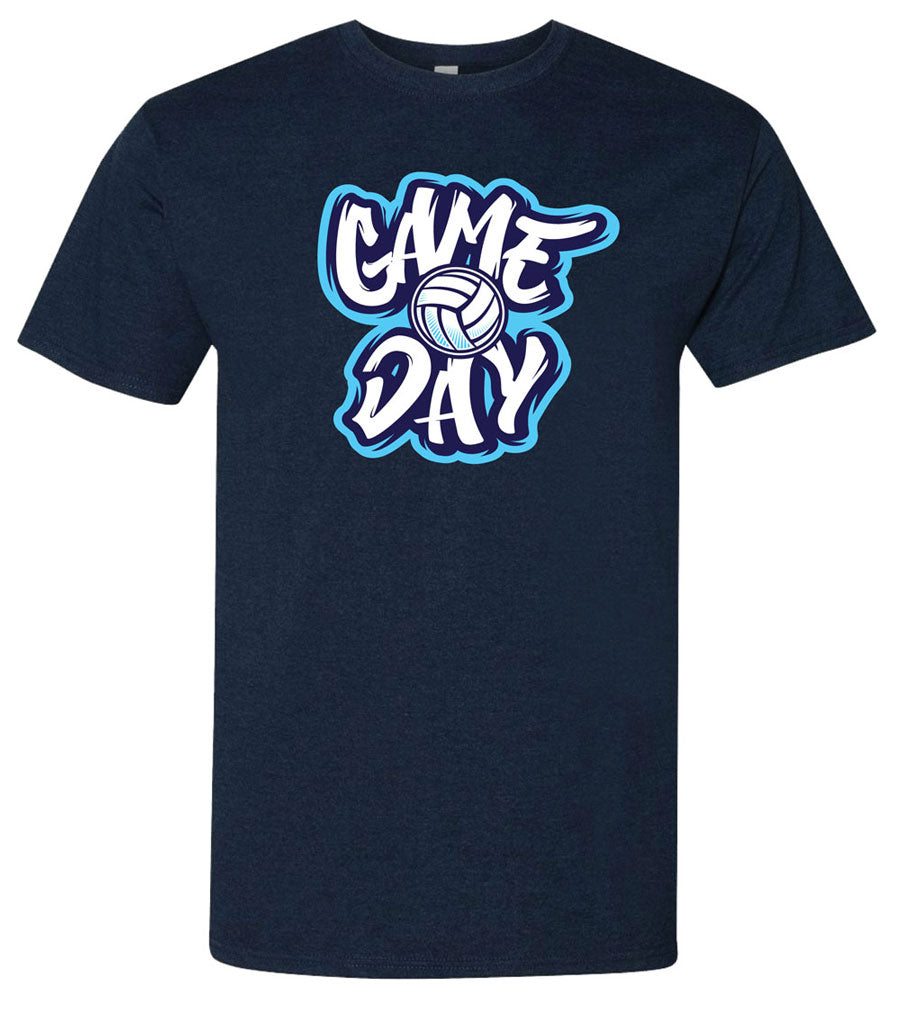 game day volleyball tee