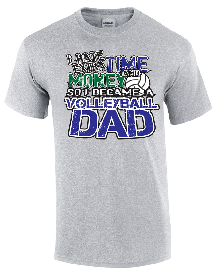 volleyball dad shirt short sleeve