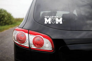 Volleyball Vinyl Stickers MOM DAD COACH