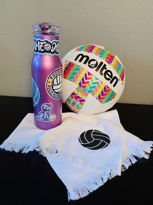 volleyball water bottle stickers