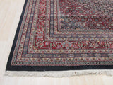 Black Traditional Bidjar Rug ,9'2 x 12'3