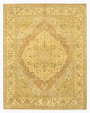 Hand-knotted Wool Brown Traditional Oriental Jaipur Rug (8'1 x 10'2)