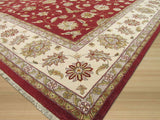 Red Traditional Agra Rug, 11'11 x 15'7