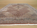 Brown Traditional Mahi Tabriz Rug, 11'2 x 16'1
