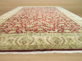Red Traditional Jaipur Rug, 12'5 x 18'3