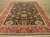 Black Traditional Jaipur Rug