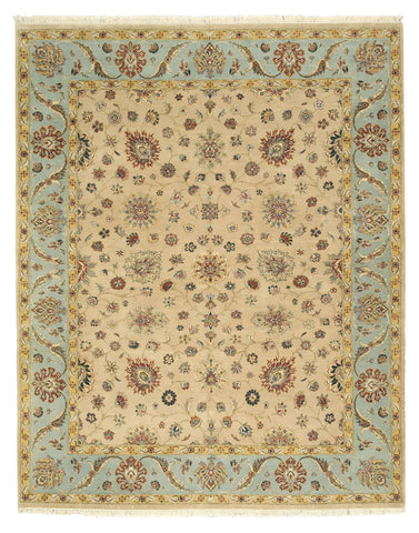 Hand-knotted Wool Beige Traditional Oriental Romance Rug