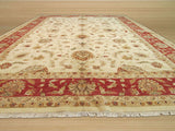 Ivory Traditional Agra Rug, 12' x 18'