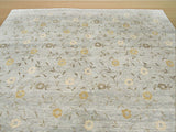 Gray Transitional Agra Rug, 8'2 x 9'11