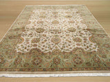 Ivory Traditional Jaipur Rug, 7'11 x 10'