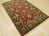 Red Traditional Jaipur Rug, 3'11 x 6'