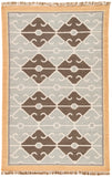Jaipur Living Sultan Handmade Geometric Gray/ Brown Area Rug (5'X8')
