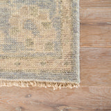 Jaipur Living Topher Hand-Knotted Medallion Beige/ Gray Area Rug
