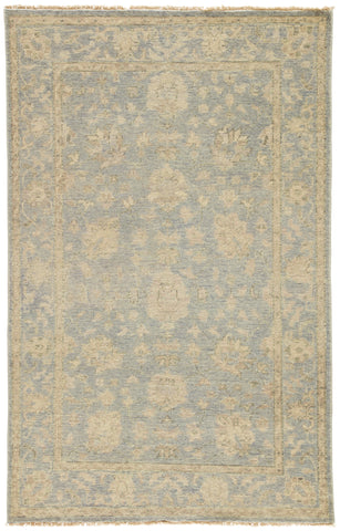 Jaipur Living Topher Hand-Knotted Medallion Beige/ Gray Area Rug (8'X10')