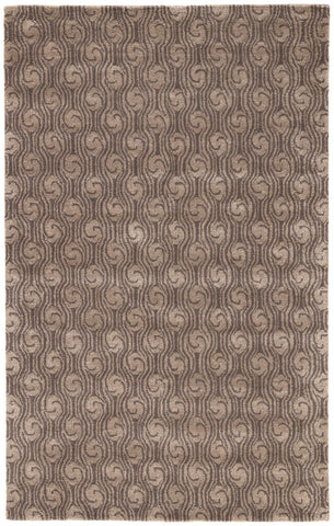 Jaipur Living Andre Handmade Abstract Brown/ Taupe Area Rug (2'X3')