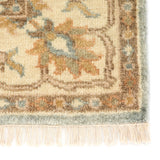 Jaipur Living Shirazi Hand-Knotted Medallion Beige/ Blue Area Rug