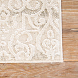 Jaipur Living Liesel Medallion Silver/ Cream Area Rug