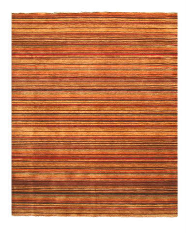 Handmade Wool Transitional Stripe Lori Toni Rug