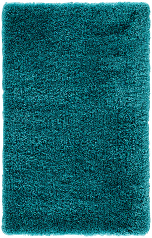 Jaipur Living Seagrove Solid Teal Area Rug (5'X8')
