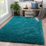 Jaipur Living Seagrove Solid Teal Area Rug