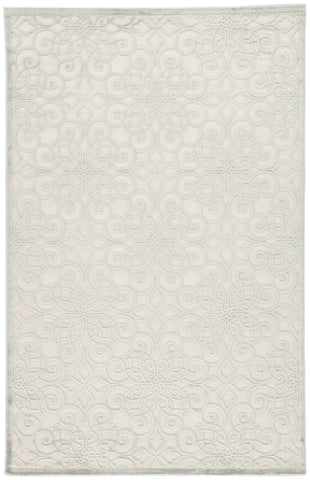 Jaipur Living Stockton Geometric White/ Gray Area Rug (9'X12')