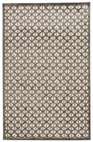Jaipur Living Stardust Geometric Gray/ White Area Rug (2'X3')