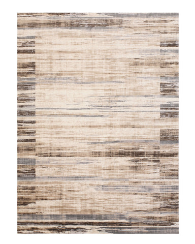 Ivory Distressed Bohemian Isabella Striped Rug