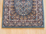 Blue Traditional Tabriz Rug