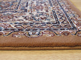 Rust Traditional Tabriz Rug