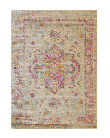 Ivory Bohemian Abstract Capella Rug
