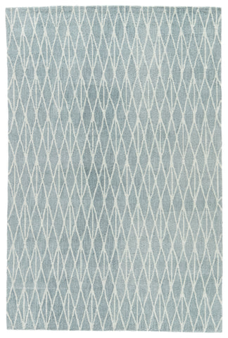 Jaipur Living Tangled Handmade Geometric Blue/ White Area Rug (2'X3')