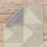 Jaipur Living Tegan Handmade Geometric Gray/ Cream Area Rug