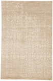 Jaipur Living Scroll Hand-Knotted Damask Beige/ Taupe Area Rug (2'X3')